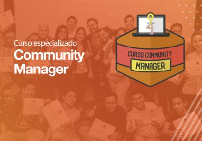 Curso especializado Community Manager · Presencial