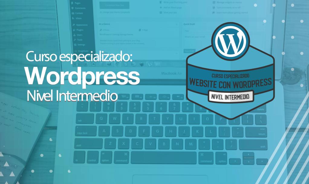 Curso WordPress online intermedio